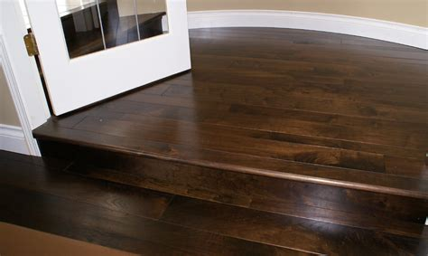 dark stain for oak floors dark stained refinished wood