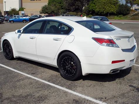 20 quot black rims on my 09 wdp tl acurazine acura