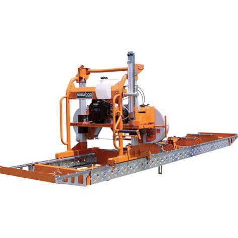 norwood lumberpro hd portable sawmill  hp briggs