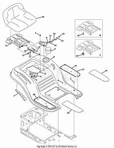 Troy Bilt 13wx78ks011 Bronco  2012  Parts Diagram For Seat