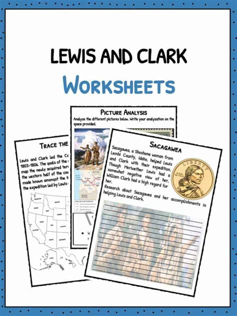 lewis  clark american expedition facts worksheets