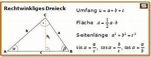 Dreieck Umfang Berechnen : rechtwinkliges dreieck formeln flaeche umfang schule pinterest fl cheninhalt dreieck ~ Themetempest.com Abrechnung