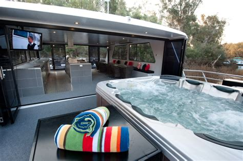 Houseboat On The Murray by Murray River Houseboats