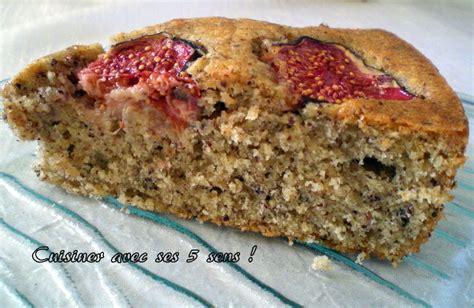 comment cuisiner les figues fraiches gâteau moelleux aux noisettes et aux figues fraîches