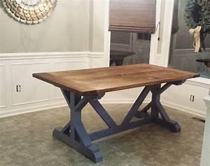 diy farmhouse table build Best made plans Pinterest