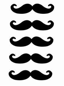 printable mustaches templates clipart best With mustache print out template