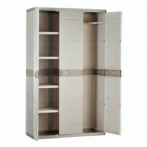 Armoire De Rangement PLASTIKEN 3 Portes