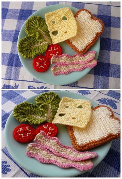 crochet cuisine 91 best images about diy hæklet mad on free