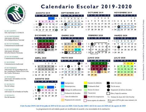 calendario ucemich