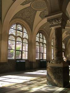 The Hague, Netherlands, Peace Palace, Hall architecture
