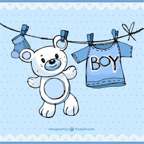 chambre bebe garcons sketchy baby boy elements vector free