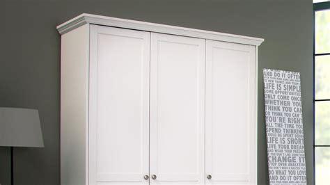 Kleiderschrank Landwood Drehtürenschrank In Weiß 3türig