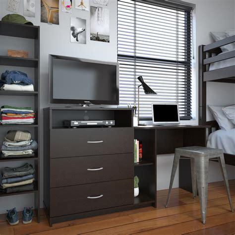 ameriwood furniture rebel    media dresser  desk