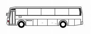 Public Bus Side View