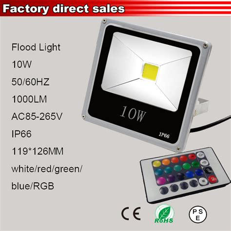 10w rgb led flood light 110v 220v l reflector led esterno faretto projecteur led exterieur