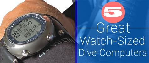 Dive Computer Comparison - top 5 best dive computer watches for the serious diver