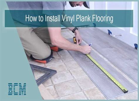 There are four basic types: How to Install Vinyl Plank Flooring Quick and Simple? - Best Choice Makers