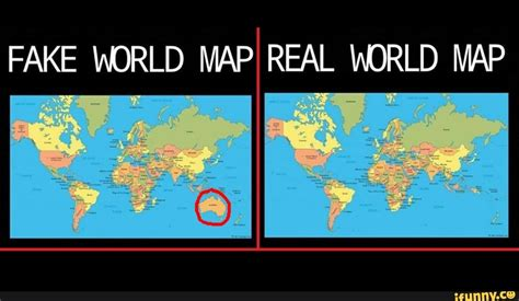 fake adrld map real world map ifunny