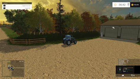 small town in usa small town america v2 0 map farming simulator 2015 15 mod