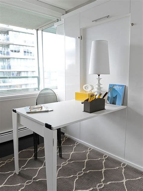 space saving office desk space saving hideaway desks for small apartment designs