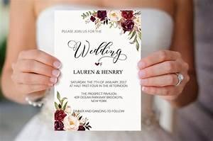 Best 25 invitation templates ideas on pinterest baby for Minimalist floral wedding invitations