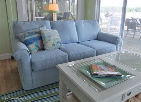 Blue Slipcovers For Sofas by The Slipcover Maker Inspiring Furniture Makeovers From