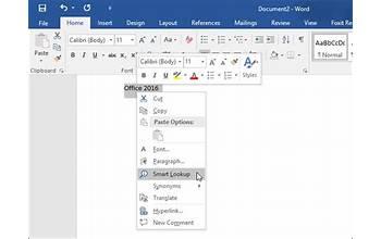 Microsoft Office 2016 screenshot #3