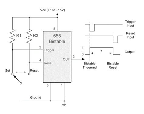 Bistable Multivibrator Using Circuit Koleksi Skema