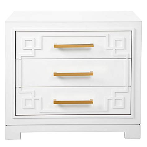 Z Gallerie York Dresser by 3 Drawer Nightstand Modern Sleek Nightstand Z Gallerie