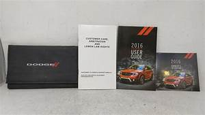 2016 Dodge Journey Owners Manual 53090