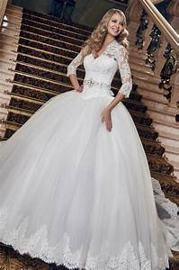 Puffy wedding dresses for Very puffy wedding dresses