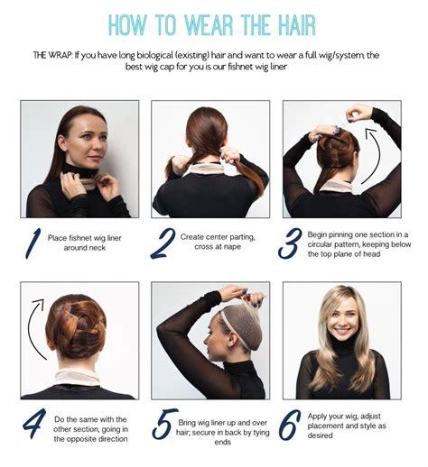 wear  hair tutorial