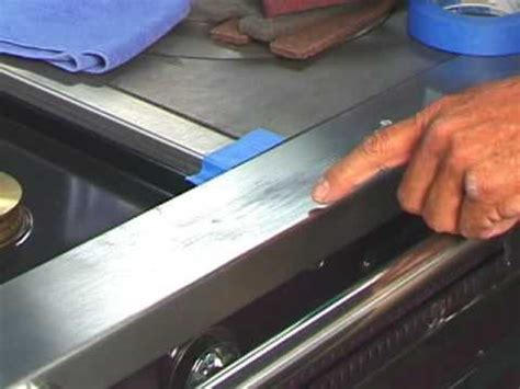 Restore Stainless Steel Appliance Surfaces, Remove