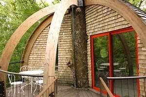 Cabane De Luxe : dormir dans une cabane en bourgogne ~ Zukunftsfamilie.com Idées de Décoration