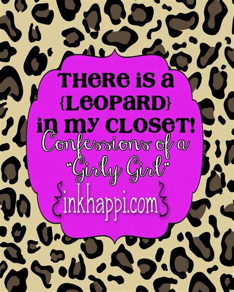 Confessions Of A Closet by There S A Leopard In My Closet Confessions Of A Quot Girly