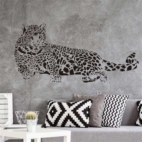 Fliesenaufkleber Leopard by Wandtattoo Leopard Liegend Trenddeko Ch