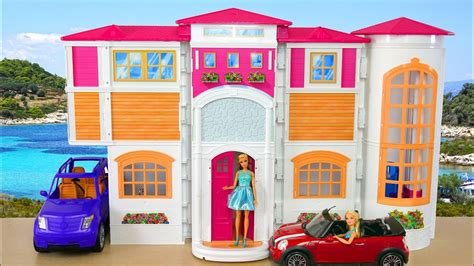barbie ken hello dream house afternoon routine casa de boneca barbie rumah boneka barbie sore
