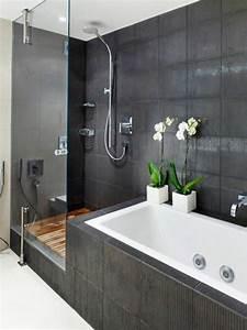 Badezimmer Ideen Grau : die graue wandfarbe 43 interieur ideen damit ~ Eleganceandgraceweddings.com Haus und Dekorationen