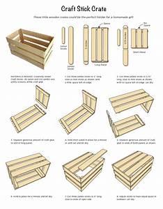 Craft Stick Crate Tutorial
