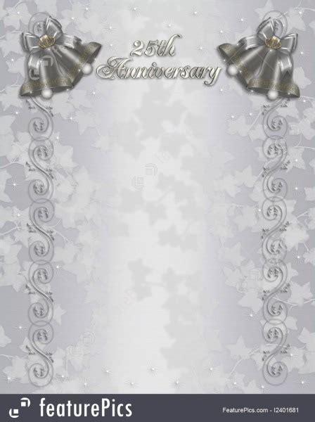Invitations For 25th Wedding Anniversary