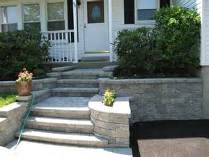 front entrance steps rockland pavers elegant design driveways walkways patios pools steps belgium block