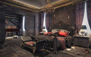 Awesome, Top, 10, Awesome, Modern, Gothic, Bedroom, Ideas, That, Will, Make, Your, Bedroom, Elegant, S