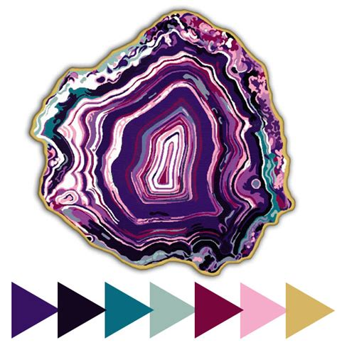 what color is agate color palettes bold agate rug furniture clue
