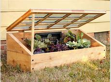 Instructions for Building a Cold Frame to Protect Plants