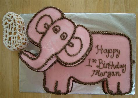 pink elephant  birthday cakejpg  comment