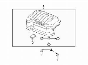Chevrolet Traverse Engine Cover  Cover Assembly