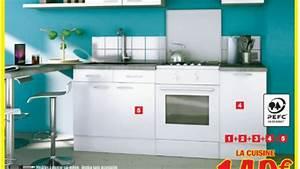 Cuisine Aménagée Brico Depot : brico depot meuble cuisine youtube ~ Mglfilm.com Idées de Décoration