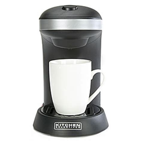 Kitchen Selectives Single Serve Coffee Maker  Big Lots