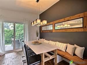 Banquette cuisine elegant idee banquette de cuisine for Salle À manger contemporaineavec lit meuble