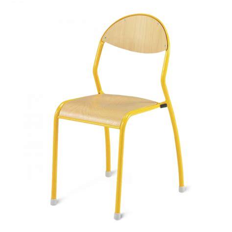 chaise écolier chaise d 39 écolier à dossier rond antibruit chaise